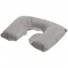 Надувная подушка под шею в чехле Sleep, серая