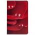 Набор «Роза»: ежедневник и зеркало, , искусственная кожа; металл; картон