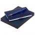 Набор Idea, синий, , картон, пластик; искусственная кожа