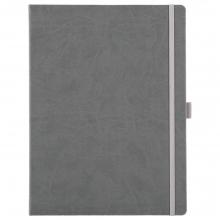 Блокнот Freenote Maxi, в линейку, серый