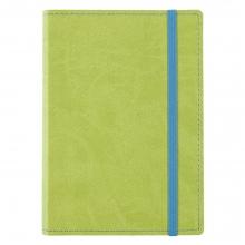 Блокнот Vivid Colors в мягкой обложке, зеленый