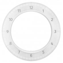 Часы настенные The Only Clock, белые