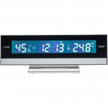 Часы с термометром и гигрометром Amplitude