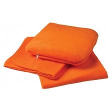 Дорожный плед TRAVEL, оранжевый