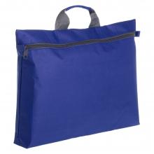 Конференц-сумка Unit Portfolio, синяя