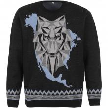 Джемпер Totem Wolf, черный