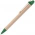 Ручка шариковая Wandy, зеленая, , пластик; картон