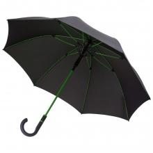 Зонт-трость с цветными спицами Color Style ver.2, зеленое яблоко