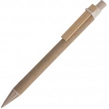 Ручка шариковая Bio-Mix, с бежевыми деталями