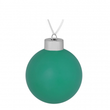 Елочный шар Colour, 8 см, зеленый