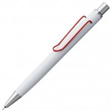 Карандаш механический Clamp, белый с красным