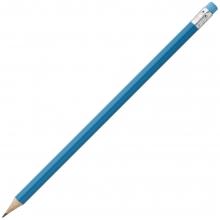 Карандаш простой Hand Friend с ластиком, голубой