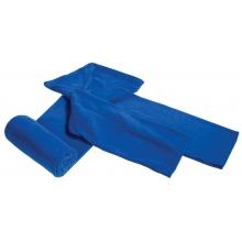 Плед с рукавами Lazybones, темно-синий