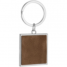 Брелок Brown Square, коричневый