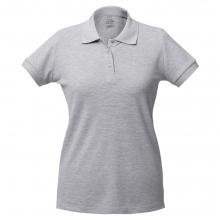 Рубашка поло женская Virma Lady, серый меланж