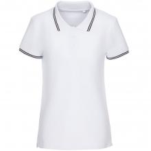 Рубашка поло женская Virma Stripes Lady, белая