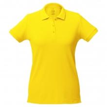 Рубашка поло женская Virma Lady, желтая