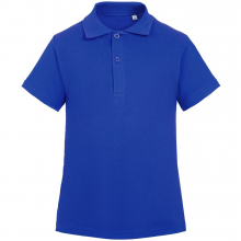 Рубашка поло детская Virma Kids, ярко-синяя