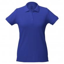 Рубашка поло женская Virma Lady, ярко-синяя