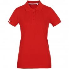 Рубашка поло женская Virma Premium Lady, красная