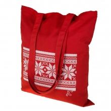 Холщовая сумка «Скандик», красная