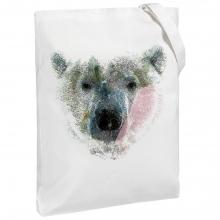Холщовая сумка Polar Bro, молочно-белая