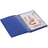 Обложка для автодокументов Twill, синяя, , полиуретан
