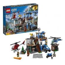 Конструктор «LEGO City. Полицейский участок в горах»