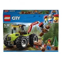Конструктор «LEGO City. Лесной трактор»