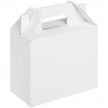 Коробка In Case S, ver.2, белая с бурым оборотом