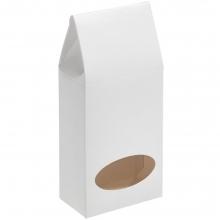 Коробка с окном English Breakfast, белая