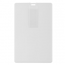Флешка Card, 8 Гб, белая
