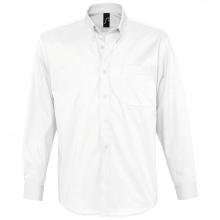 Рубашка мужская с длинным рукавом BEL AIR, белая