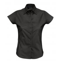 Рубашка женская с коротким рукавом EXCESS, черная
