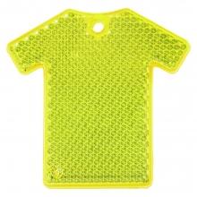 Светоотражатель «Футболка», неон-желтый