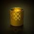Подсвечник King, золотистый, , стекло