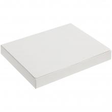 Самосборная коробка под ежедневник и ручку, белая