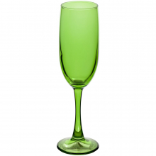 Бокал для шампанского Enjoy, зеленый
