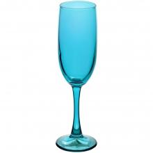 Бокал для шампанского Enjoy, голубой