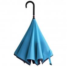 Зонт наоборот Unit Style, трость, сине-голубой