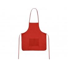 Фартук, красный, плотность 80г/м2