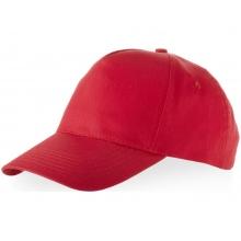 Бейсболка Memphis 5-ти панельная, красный (Р)