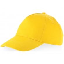 Бейсболка Memphis 5-ти панельная, желтый (Р)