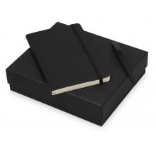 Подарочный набор Moleskine Amelie с блокнотом А5 и ручкой, черный