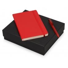 Подарочный набор Moleskine Amelie с блокнотом А5 и ручкой, красный