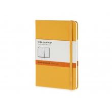 Записная книжка Moleskine Classic (в линейку), Pocket (9х14 см), оранжевый