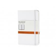 Записная книжка Moleskine Classic (в линейку), Pocket (9х14 см), белый