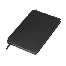 Блокнот Notepeno 130x205 мм с тонированными линованными страницами, черный