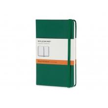 Записная книжка Moleskine Classic (в линейку), Pocket (9х14 см), зеленый
