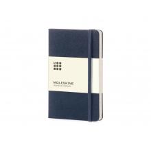 Записная книжка Moleskine Classic (в линейку) в твердой обложке, Large (13х21см), синий